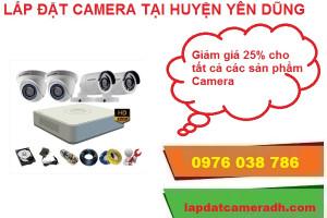 Lắp đặt camera ở huyện Yên Dũng